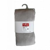 Influx drap housse 140x190 jersey gris