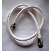 Techniloisir flexible tressé nylon blanc 2,00m réf 005626