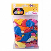 Ballons x100 coloris assortis diamètre 21cm