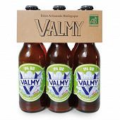 Bière Valmy ipa bio Vol. 6.5% 33cl x6