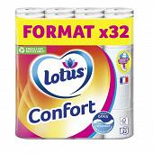 Lotus papier toilette confort aqua tube x32