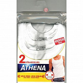 Lot de 2 débardeurs duo choc Athena 450 BLANC/BLANC T6