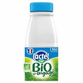 Lactel bio 1/2 écrémé bt uht 50cl