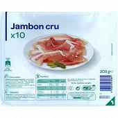 Jambon cru 200g