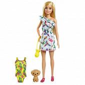 Barbie et son chiot
