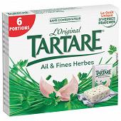 Tartare l'original ail et fines herbes 6 portions 96 g