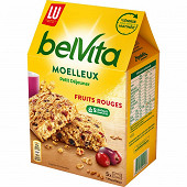 Lu belvita gateau moelleux fruits rouges 250g
