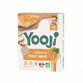 Yooji Haché de poulet bio surgelé dès 6 mois 120g