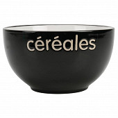 Bol céréales noir