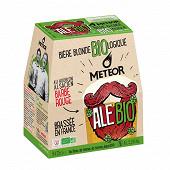 Meteor biere bio 6x25cl 5.5%vol