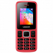 """Logicom Téléphone portable 1.77"""" POSH 178 ROUGE LS"""