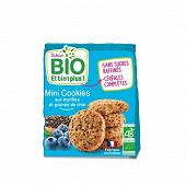 Dukan mini cookies bio à la myrtille et aux graines de chia 120g