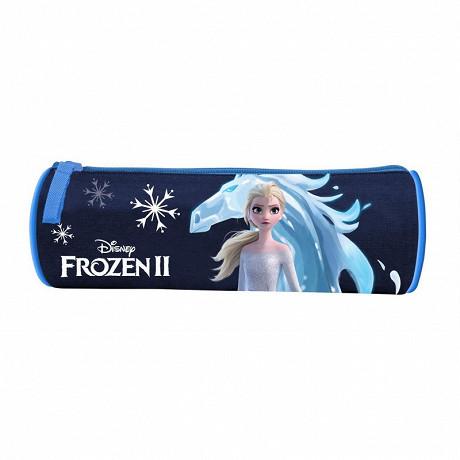 Trousse ronde la reine des  neiges glace