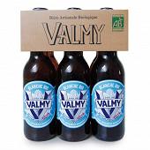 Bière Valmy blanche bio Vol. 5% 33cl x6