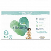 Pampers harmonie lot promo taille 3x 93ct