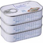 Sardines sauce tomate 3 X 125G