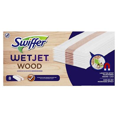Swiffer Swiffer balais systéme anti-poussière wetjet wood rf x8 8ct