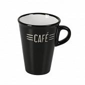 Tasse café 13cl noir