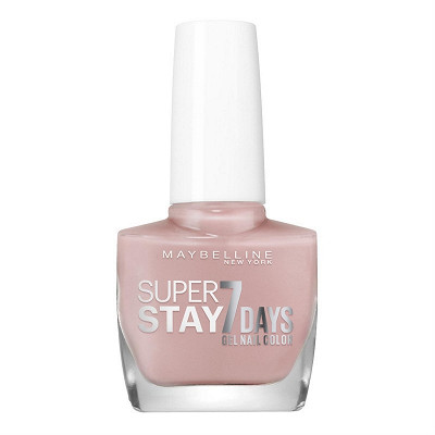 Gemey Maybelline Gemey Maybelline vernis à ongles Tenue&Strong N°130 rose poudre NU