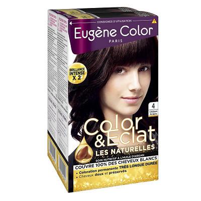 Eugène Color Eugène color n°4 châtain acajou lot 2