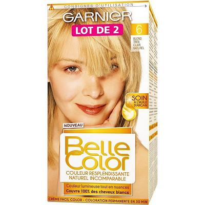Garnier Belle Color coloration blond très clair n°06 lot 2