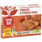 Céréal bio galettes quinoa et boulghour à la tomate 200g