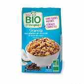 Dukan granola bio au chocolat et noix de coco 350g