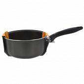 Cora casserole 18cm tous feux sauf induction coloris gris