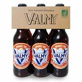 Bière Valmy ambrée bio Vol. 6% 33cl x6