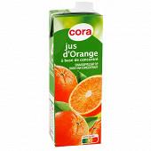 Cora jus d'orange brique 1l