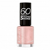 Rimmel nu puce sleeve vernis à ongles 60s supershine ethereal 210