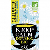 Clipper keep calm infusion 35g 20 sachets