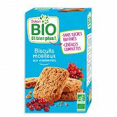 Dukan biscuits bio moelleux aux cranberries 150g