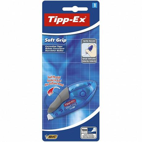 Bic 1 ruban correcteur tipp-ex soft grip