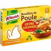 Knorr bouillon poule 15 tablettes 150g offre saisonnière