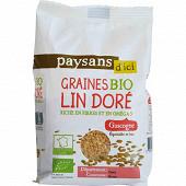 Paysans d'ici graines de lin dore de gascogne bio 250 gr