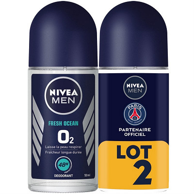 Nivea Nivea déodorant bille fresh ocean lot 2 x 50ml