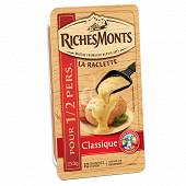 RichesMonts tranches raclette nature 250g