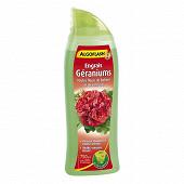 Algoflash engrais géraniums et fleurs de balcon 750ml