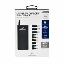 Bluestork Chargeur universel pour pc  90 w - 18.5-20 v 9 embouts inclus BS-PW-NB90/FB3