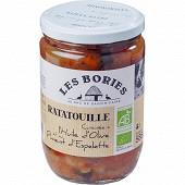 Les bories ratatouille cuisinée à l'huile d'olive et au piment d'Espelette 585g