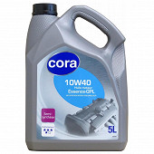 Cora huile moteur voiture semi-synthèse essence 10W40 5 litres