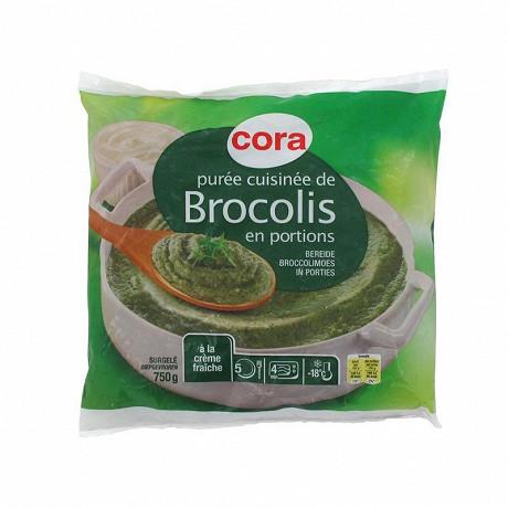 Cora purée cuisinée de brocolis 750g