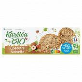 Karelea sablé épeautre noisette réduit en sucres bio  150g