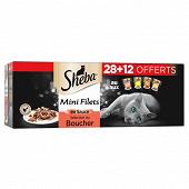 Sheba sélection du boucher 40x85g 28+12 offerts