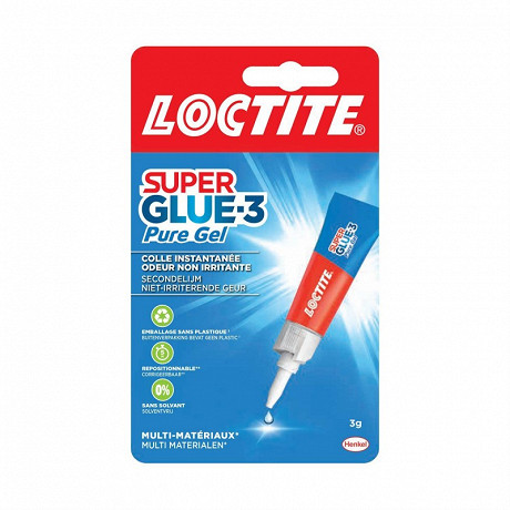Loctite colle super glue-3 power easy gel 3 grammes