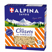 Alpina Savoie crozets au sarrasin 400g