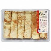 Crêpes jambon fromage 120gx6