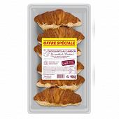 Croissant au jambon (6x150g ) fe 900g
