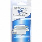 Trefilaction  loqueteau magnétique 4kg blancX2